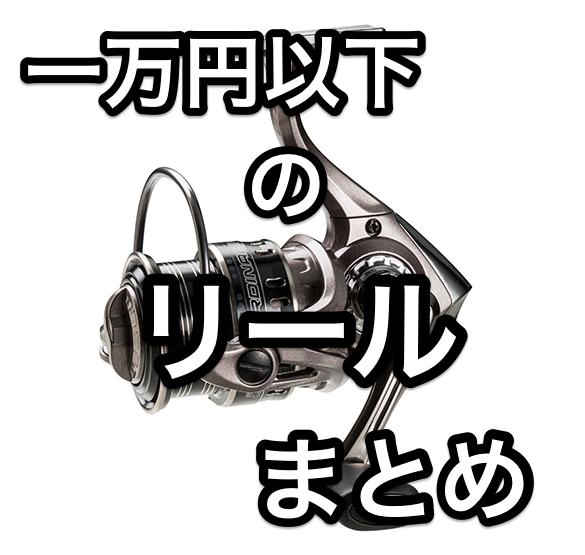 【バス釣り】一万円以下で買えるスピニングリールまとめてみた!