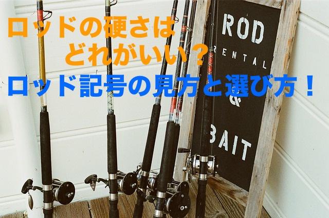 バス釣りのロッドの硬さはどれを選べばいい?ロッドの硬さと記号の見かたをまとめてみた!