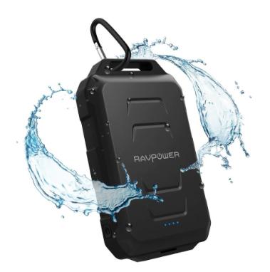 釣りやキャンプに便利な防水のモバイルバッテリーあつめてみた!