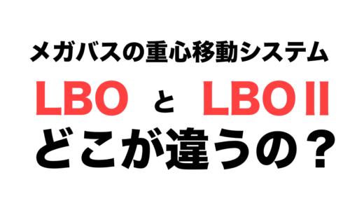 メガバスの重心移動システム「LBO」と「LBOⅡ」は何が違う?調べてみたら違いが明らかに!